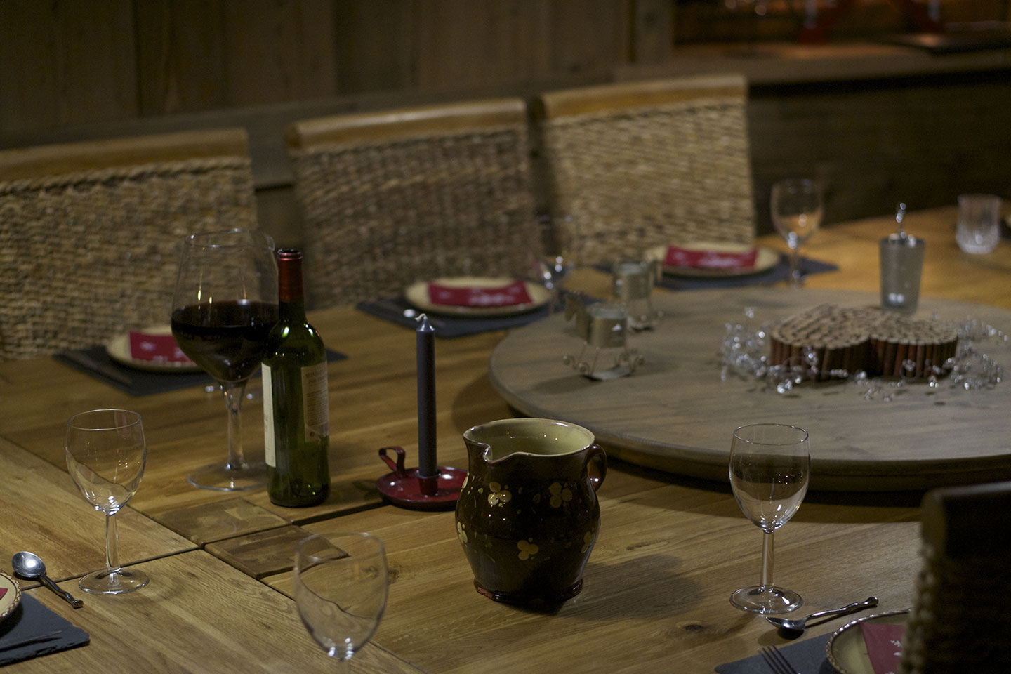 Table d'hôtes à la Ferme d'en bas